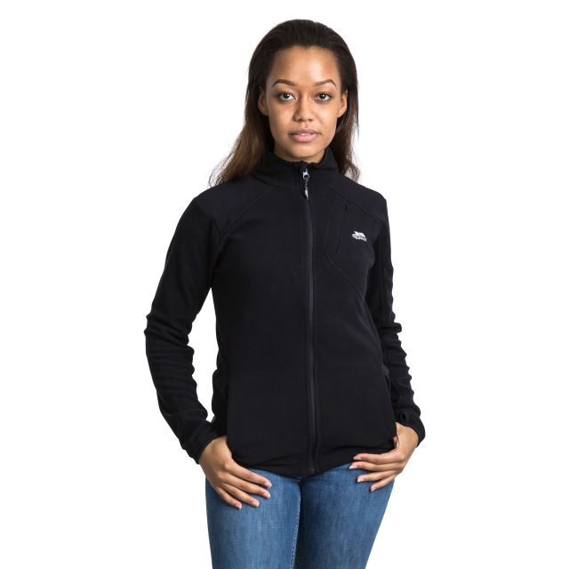 Saskia Women's Microfleece in Black