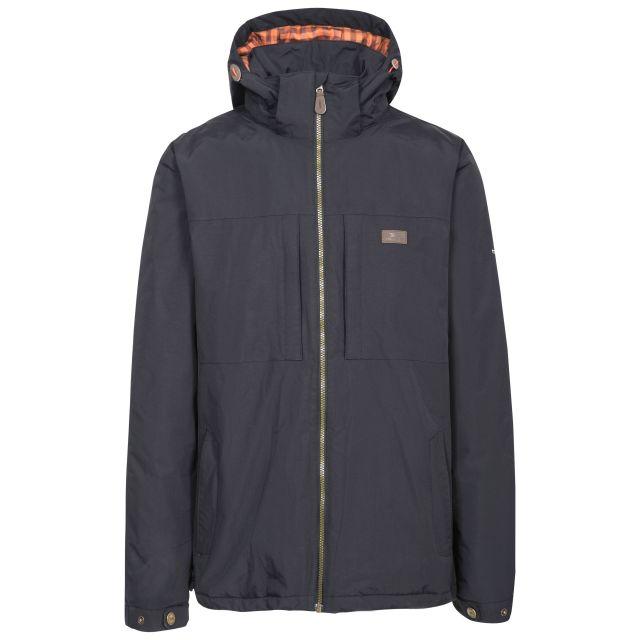 Savio Men's Insulated Windproof Waterproof Jacket in Black