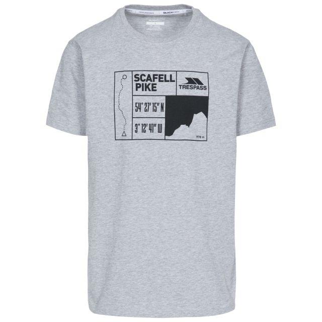 Scafel Men's Quick Dry Casual T-Shirt - GRM