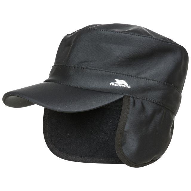 Scofield Unisex Water Resistant Softshell Cap - BLK