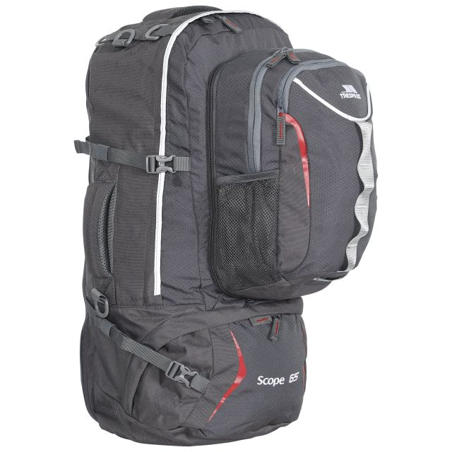 Scope 65L Rucksack in Grey
