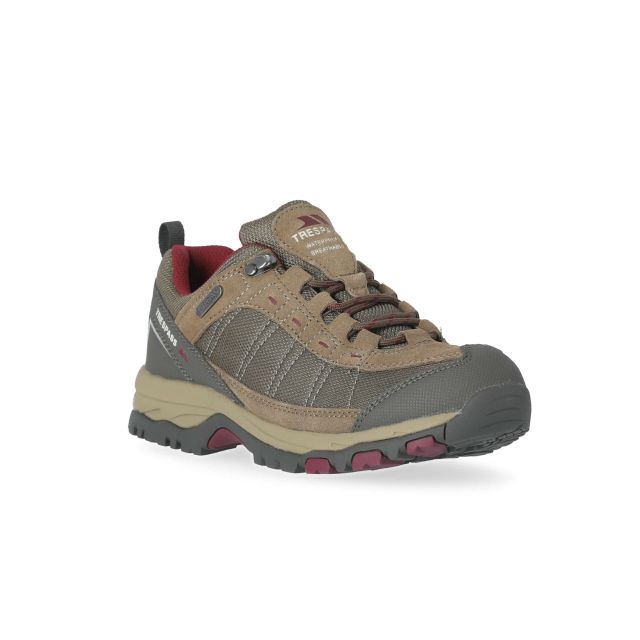 Scree Women's Walking Shoes in Brown
