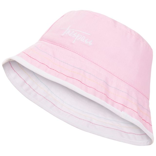 Seashore Babies' Reversible Bucket Hat in Pink