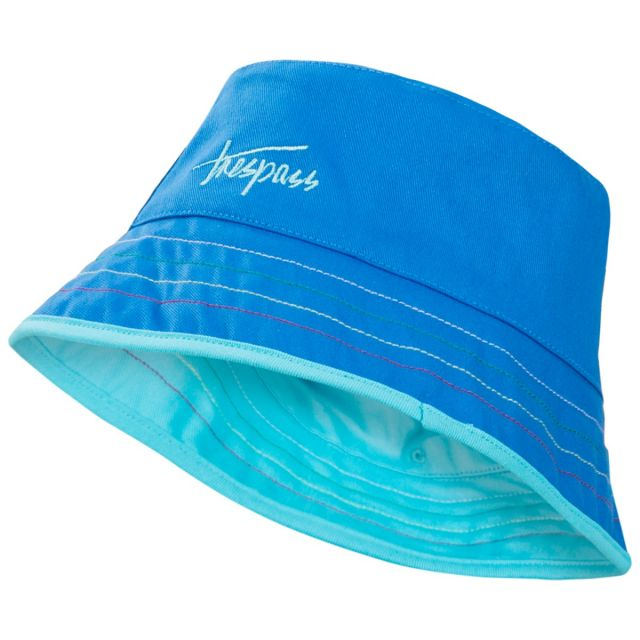 Seashore Babies' Reversible Bucket Hat in Blue
