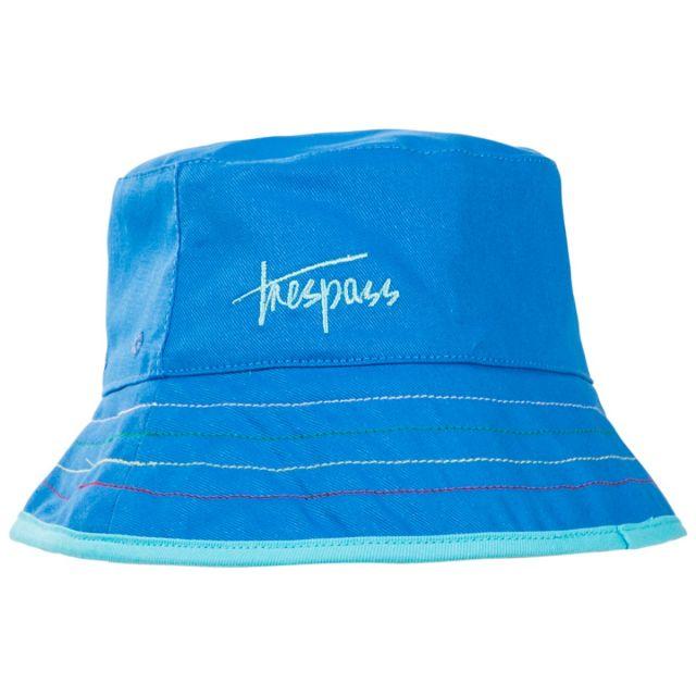 Seashore Babies' Reversible Bucket Hat in Blue