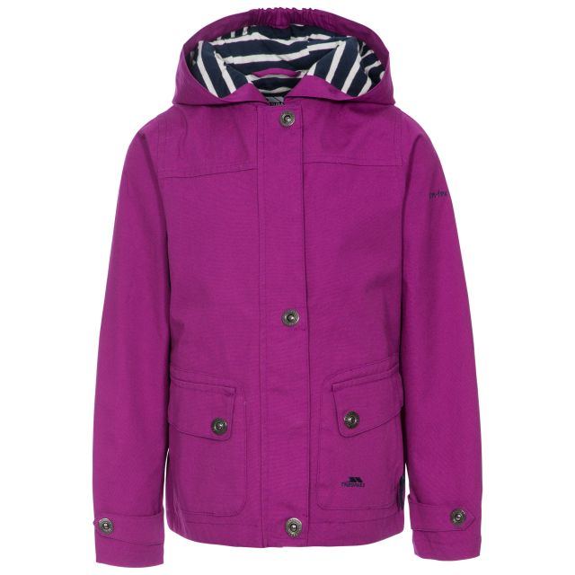 Seastream Kids' Waterproof Jacket in Purple