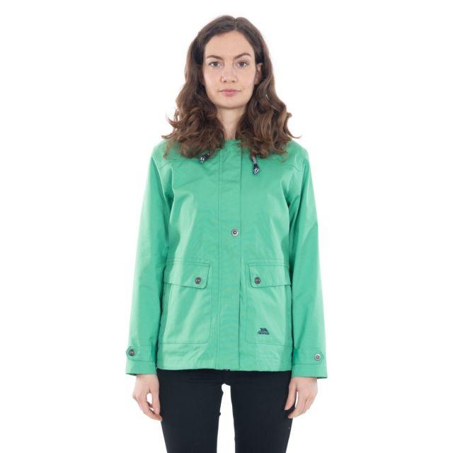 Seawater Women's Waterproof Jacket in Green