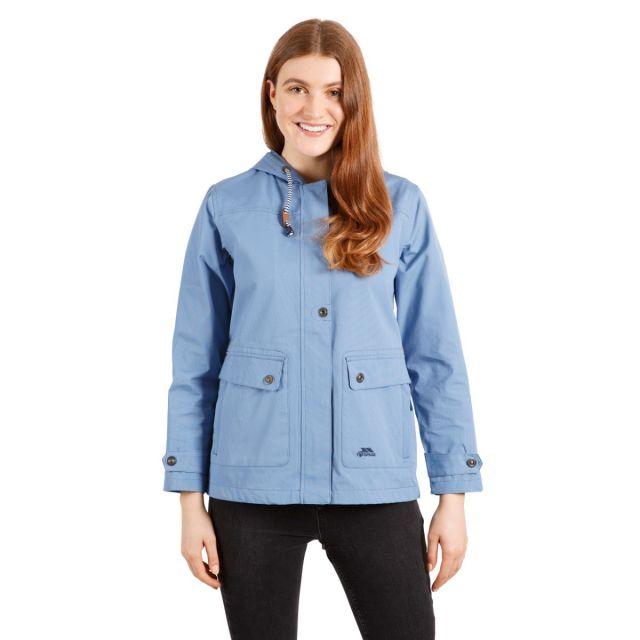 Seawater Women's Waterproof Jacket in Blue