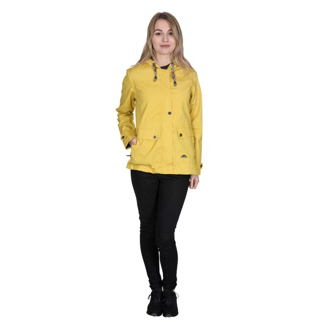 Seawater Women's Waterproof Jacket in Yellow