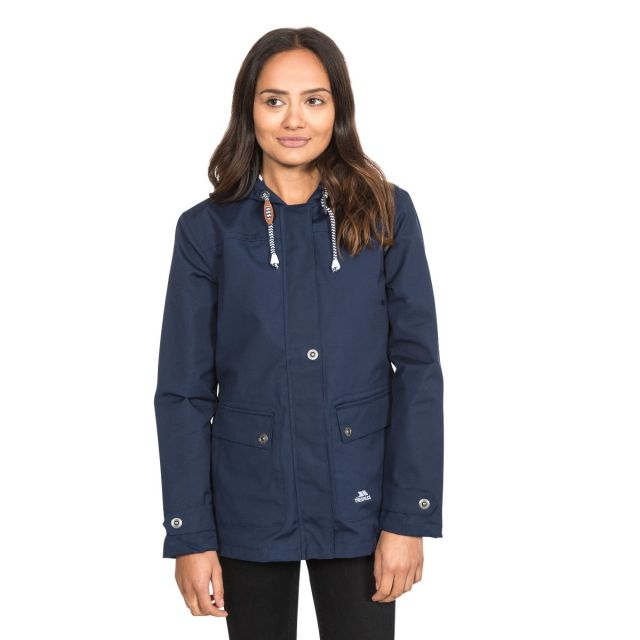 Seawater Women's Waterproof Jacket in Navy