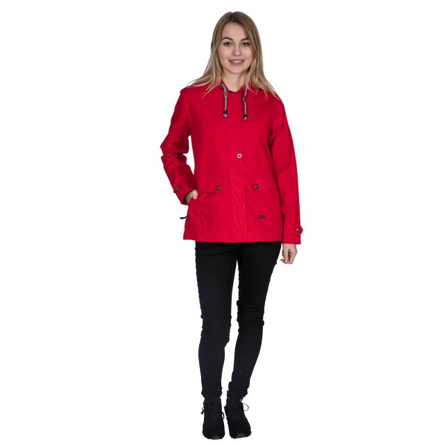 Seawater Women's Waterproof Jacket in Red