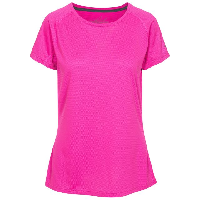 Serphina Women's Quick Dry Active T-Shirt in Pink