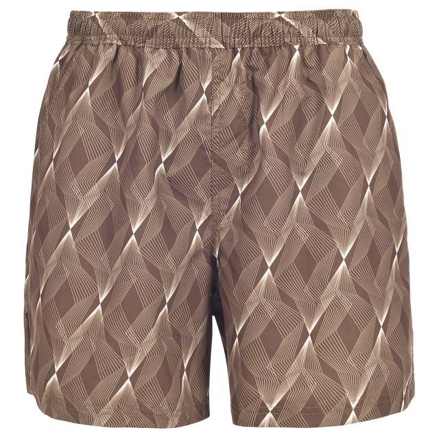 Seth Men's Swim Shorts  in Brown