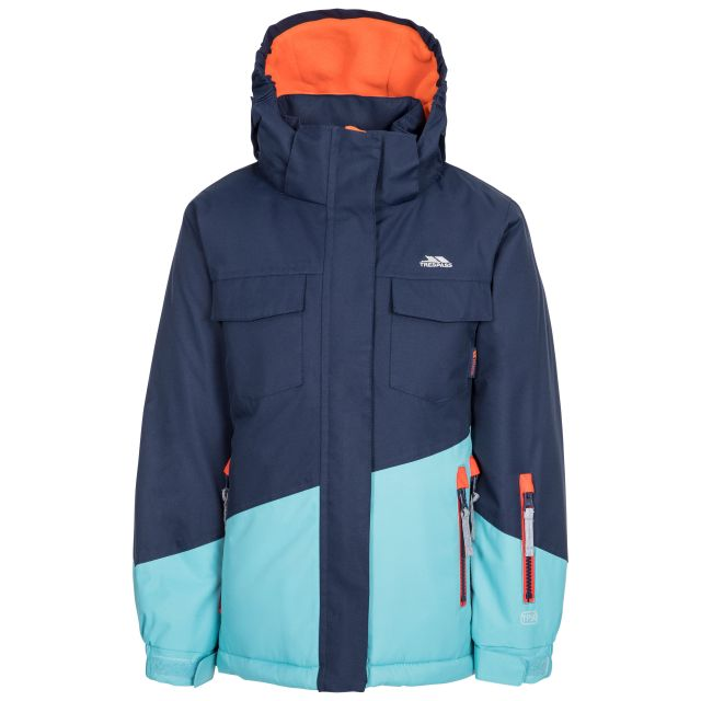 Settler Kid's Padded Ski Jacket in Navy