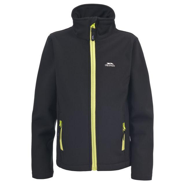 Shae Boys' Softshell Jacket in Black