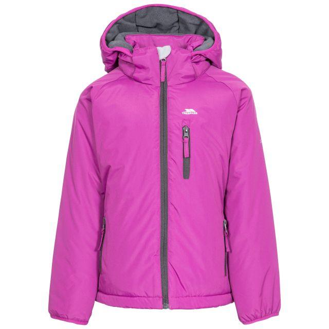 Shasta Girls' Padded Waterproof Jacket in Pink