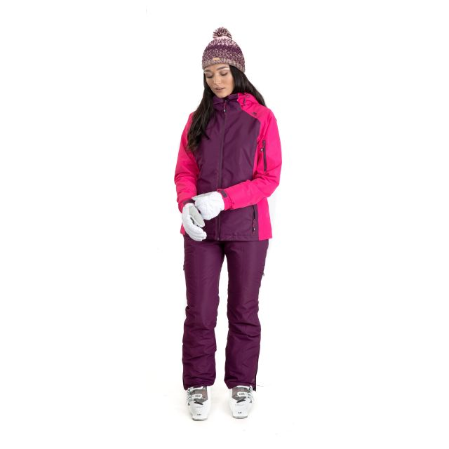 Sheelin Women's Waterproof Ski Jacket in Purple