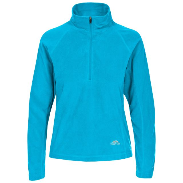 Shiner Women's Half Zip Microfleece in Blue