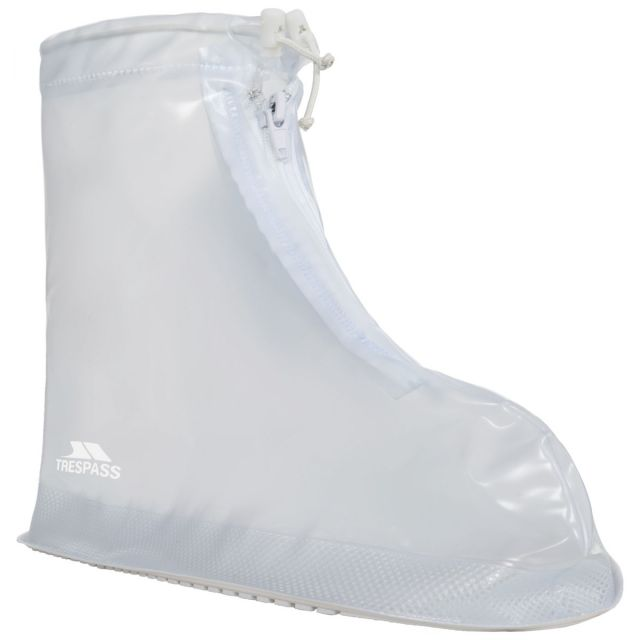 Waterproof Boot Covers in White