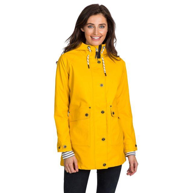 Trespass Womens Waterproof Jacket Shoreline Yellow
