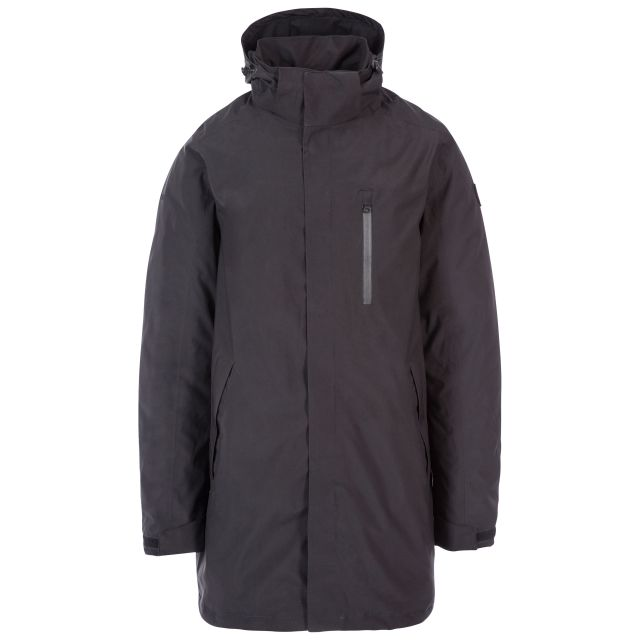 Shoulton Men's Padded Waterproof Jacket in Black