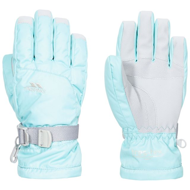 Simms Kids' Ski Gloves in Light Blue