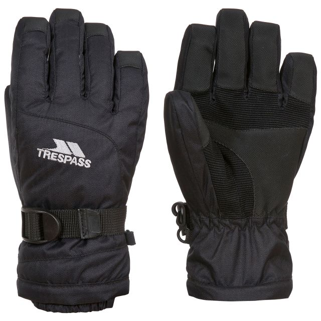 Simms Kids' Ski Gloves in Black