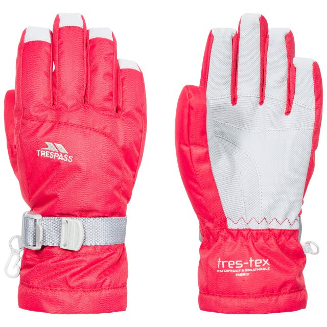 Simms Kids' Ski Gloves in Red