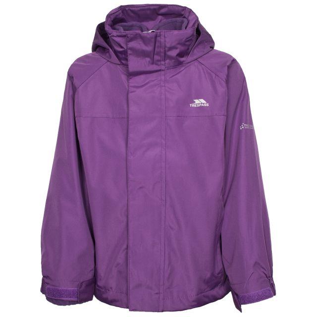 Skydive Kids' 3-in-1 Waterproof Jacket in Purple