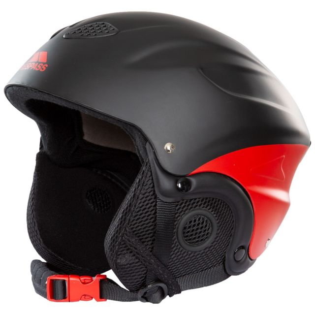 Skyhigh Adults' Ski Helmet in Black and Red