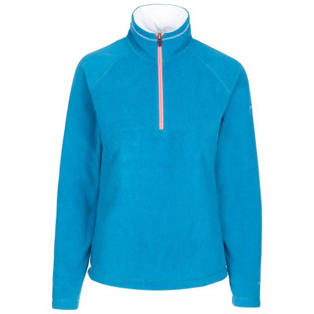Skylar Women's 1/2 Zip Fleece in Blue