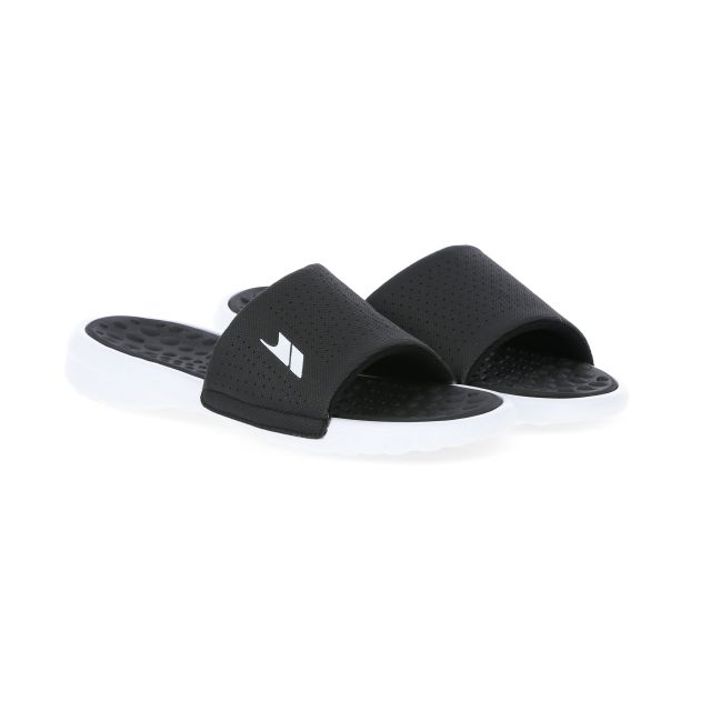Slide Men's Cushioned Sandals in Black