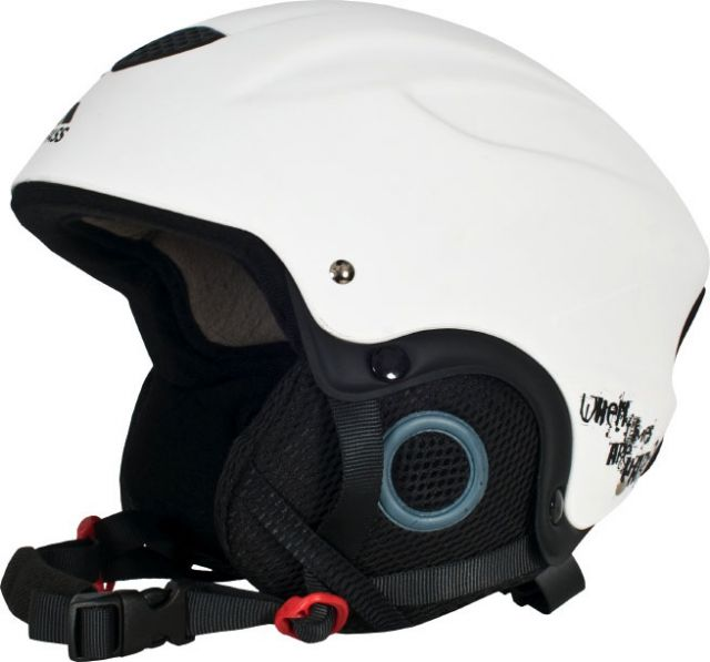Skyhigh Unisex Ski Helmet in White