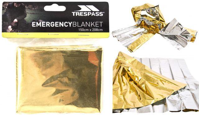 Foil Emergency Blanket in Assorted