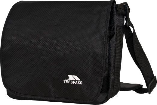 Timur  Black 9 Litre Messenger Bag in Black