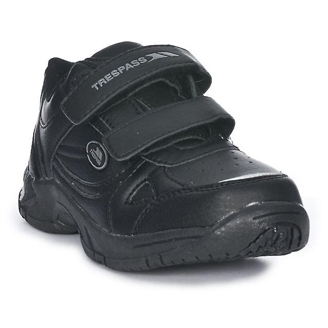 Smarter Boys' School Shoes in Black