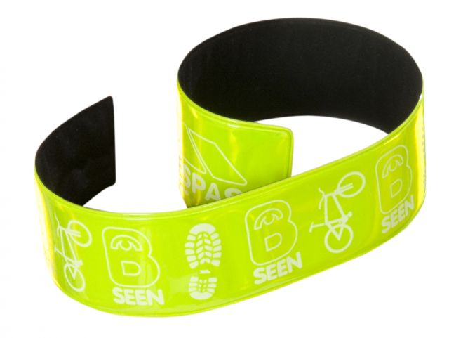 Hi Vis Snap Wrist Strap in Green