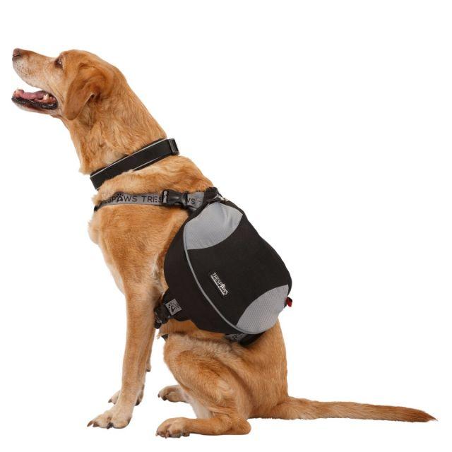 Trespaws Dog Backpack Harness Snooper Black Large