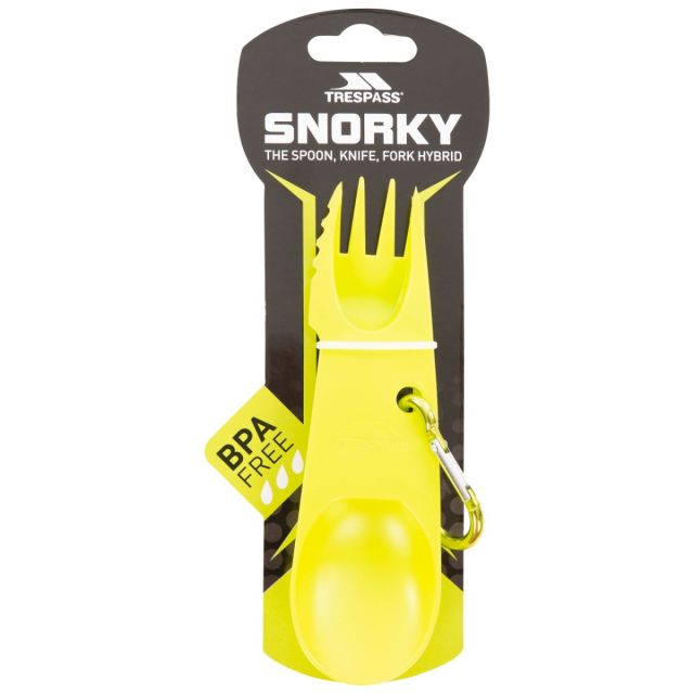 Snorky 3-in-1 Camping Utensil in Green