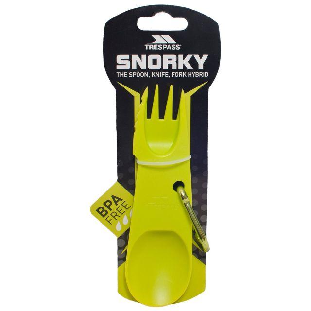 Snorky 3-in-1 Camping Utensil in Green