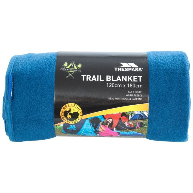 Fleece Blanket 120 x 180cm in Blue