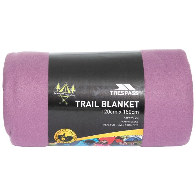 Fleece Blanket 120 x 180cm in Light Purple