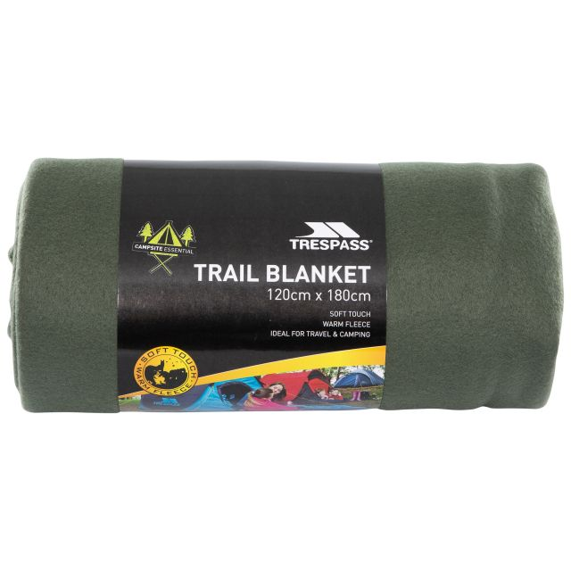 Fleece Blanket 120 x 180cm in Khaki