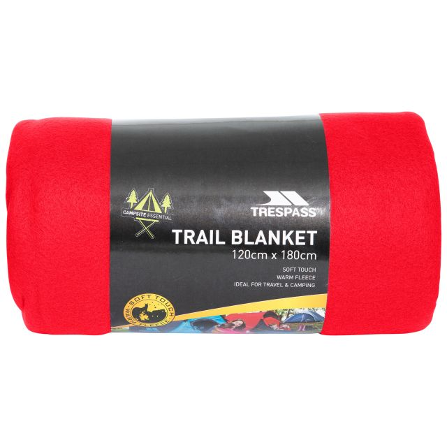 Fleece Blanket 120 x 180cm in Red