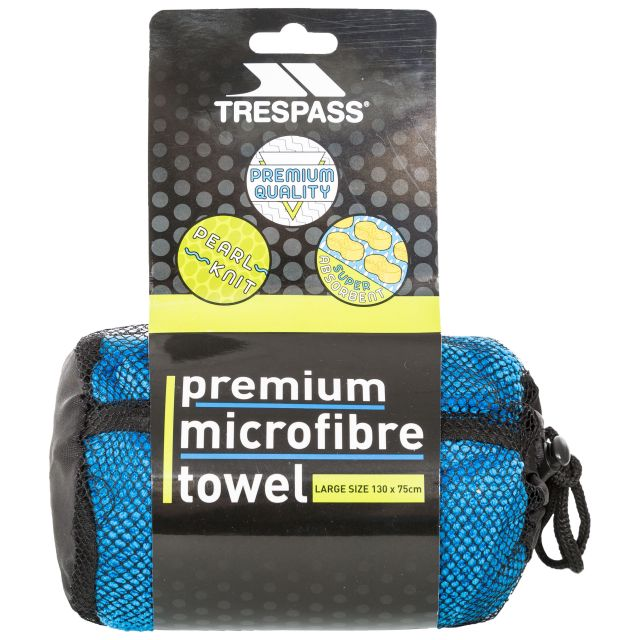 Microfiber Towel 75 x 130cm in Blue