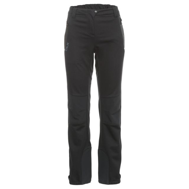 Sola Women's DLX Softshell Walking Trousers in Black