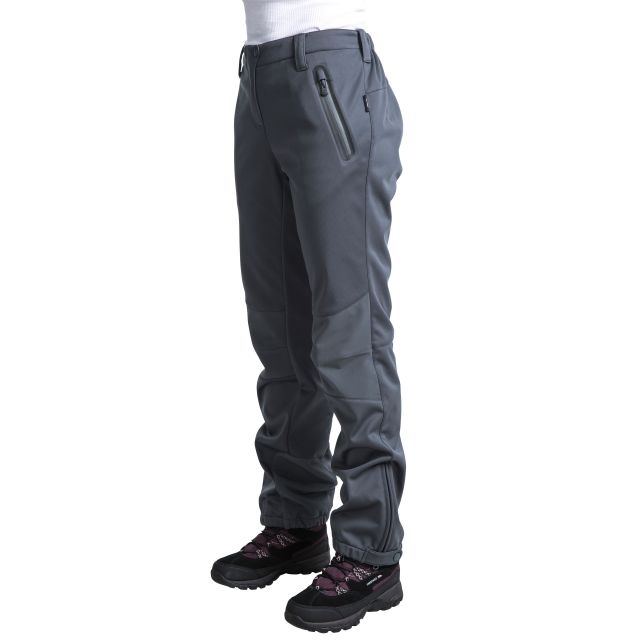 Sola Women's DLX Softshell Walking Trousers in Grey