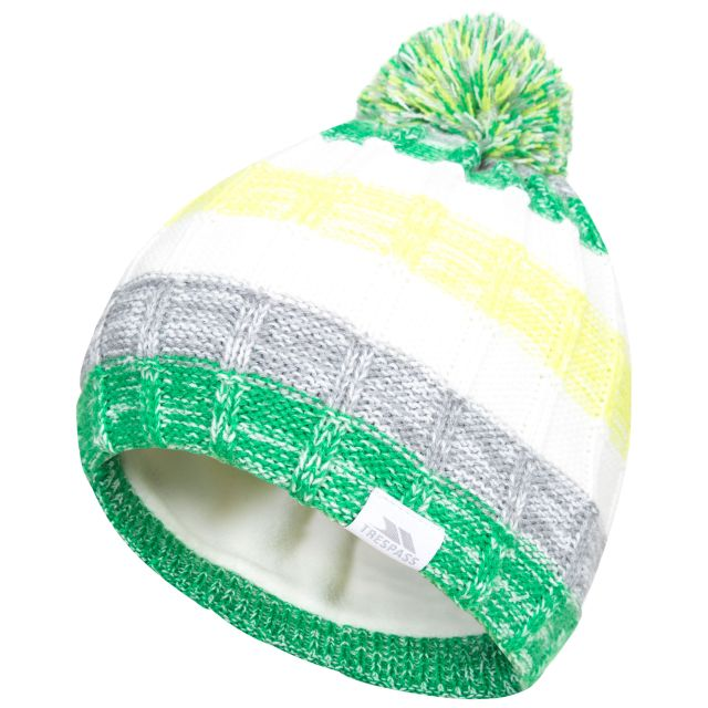 Solano Kids' Bobble Hat in Green