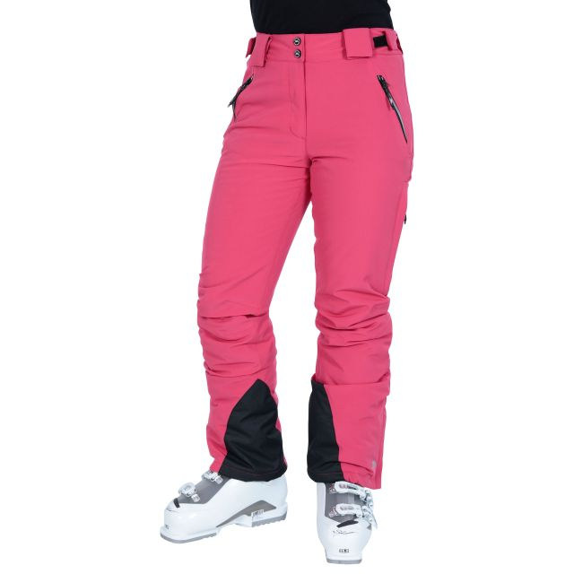 Solitude II Women's Waterproof Ski Trousers in Pink