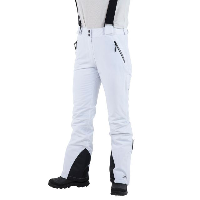 Solitude II Women's Waterproof Ski Trousers in White